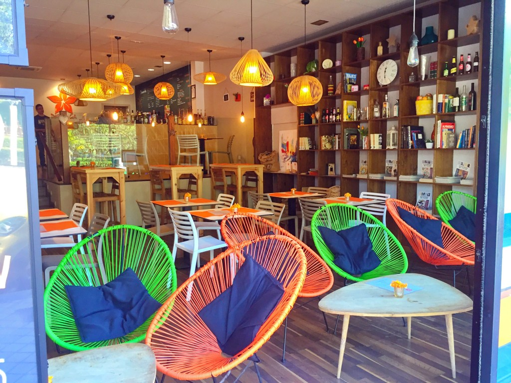 Cafetería en Argüelles.