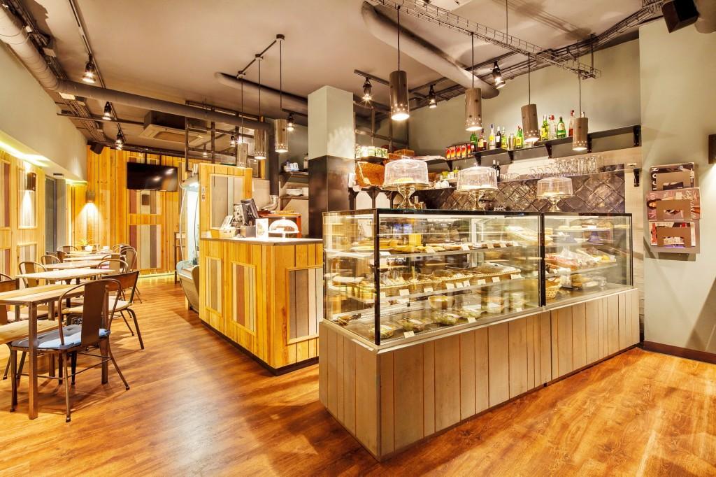 Cafetería en Chamberí.