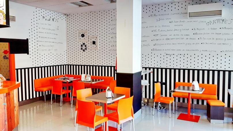 Cafetería en Torrente.